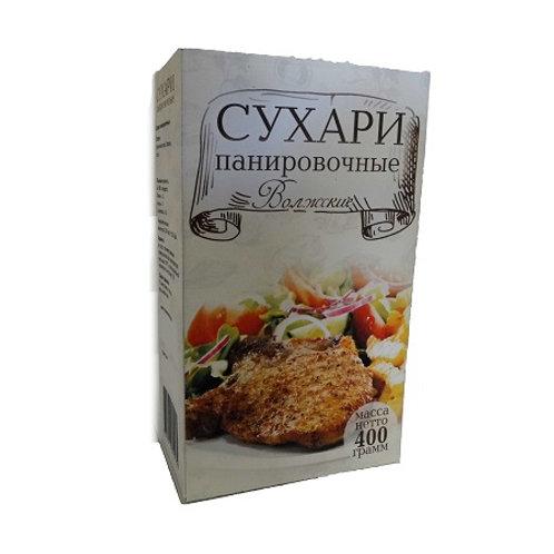"""Панировочные сухари  """"Волжские""""  400гр 1шт. оптом"""