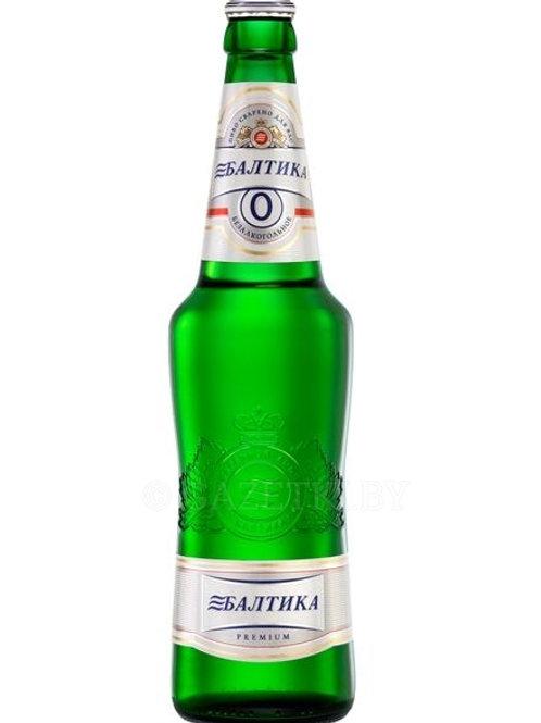 Балтика №0 ст 0.5л  (1х20) пиво оптом