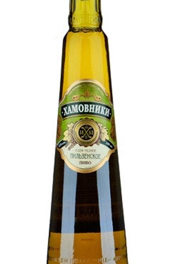Хамовники Пильзенское с 0.5л ст (1х20) пиво оптом