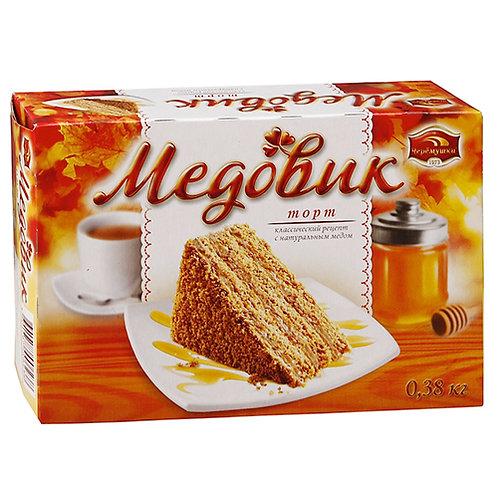 Торт Медовик класс. 380гр   маленький оптом