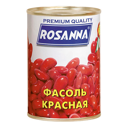 "Фасоль красная  ""Росанна""  400гр ж/б 1шт. оптом"