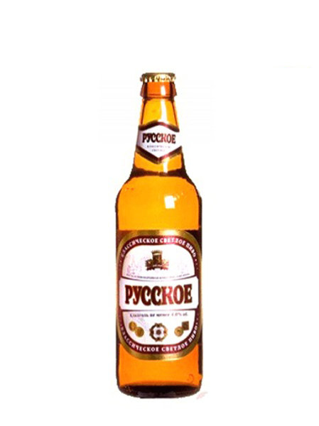 Русское классическое 0,5 ст (1х20) пиво оптом