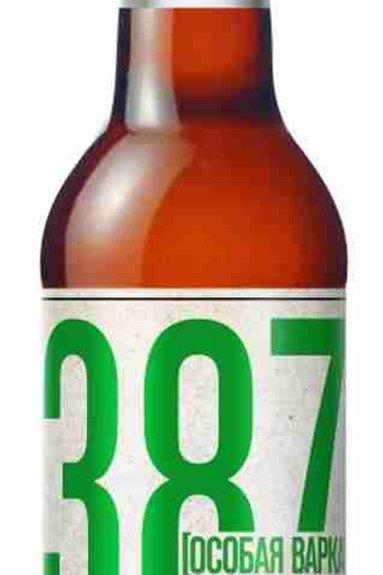"""ПИВО  """"387  Особая варка""""  0.5л ст (1х20) пиво оптом"""