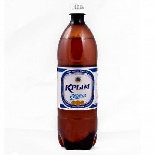 Крым светлое  1,5л  пэт  (1х6) пиво оптом
