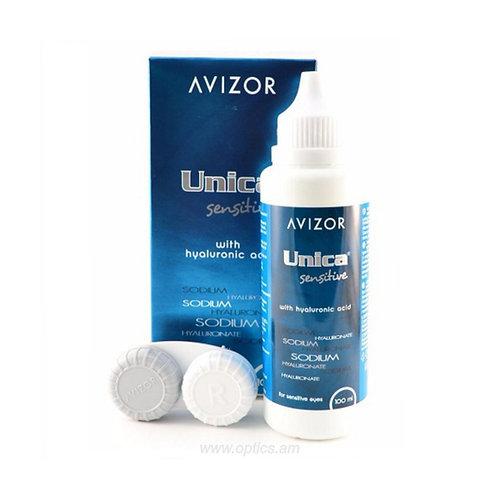 Avizor® Unica Sensitive 100ml. զգայուն աչքերի համար