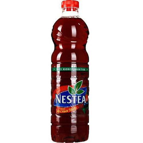 Чай Нести Клубника 1л пэт (1х12) оптом