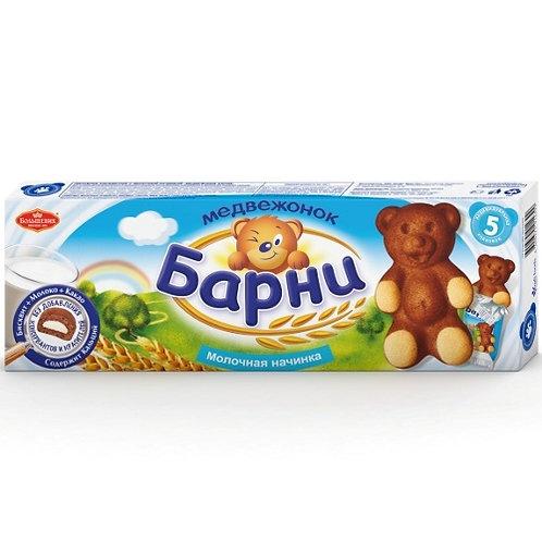 Медвежонок  Барни   Молочный  150гр  1шт. оптом