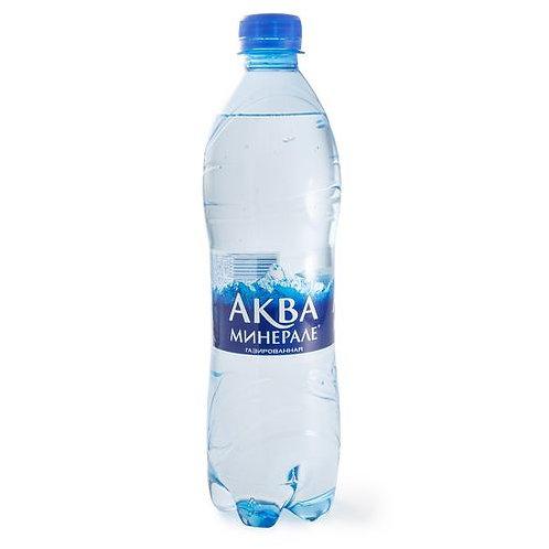 Аква Газ 0.6л пэт (1х12) вода оптом