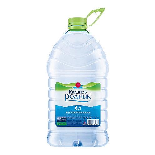 Калинов Родник Б/Г 6л пэт (1х2) вода оптом