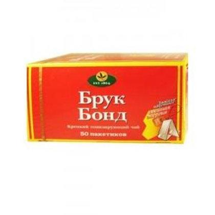 Чай Брук Бонд  (50 пакет) 1шт. оптом