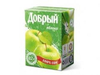 Добрый Яблоко  0.2л (1х27) оптом