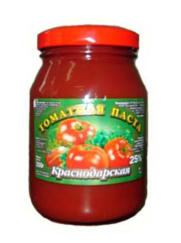 Томатная паста  Краснодар 480гр ст 1шт. оптом
