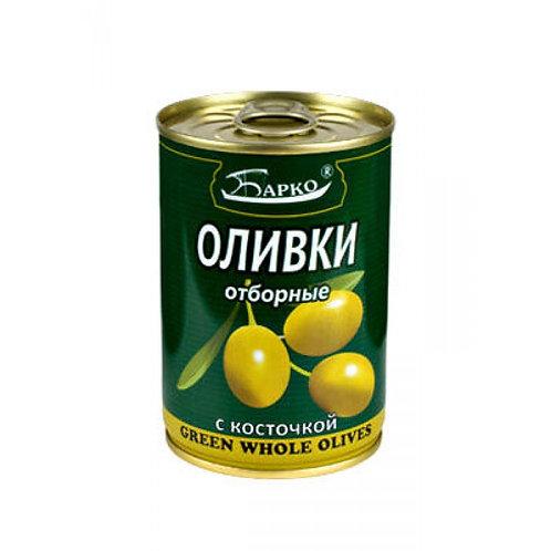 """Оливки  """"Барко""""  с/к  280гр оптом"""