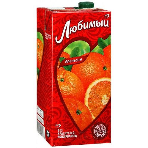 Любимый сад Апельсин  2л (1х6) оптом