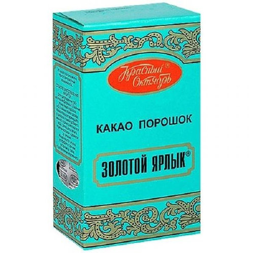 """Какао """"Золотой ярлык"""" 100гр 1шт. оптом"""