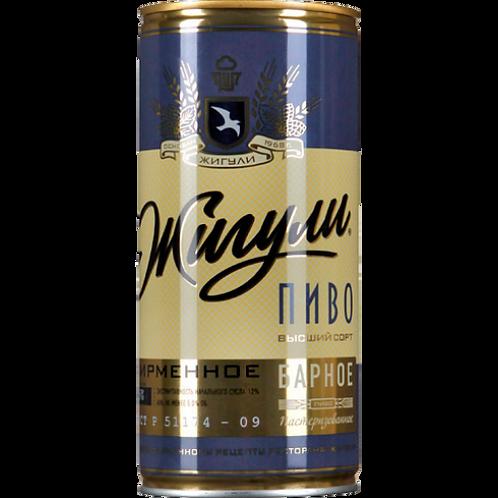 Жигули БАРНОЕ 1л  ж/б  (1х12) пиво оптом