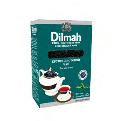 Чай Dilmah кр. лист 50гр (1х48) оптом