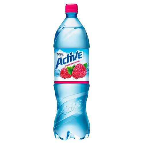Аква  Актив Малина 1.25л пэт (1х12) вода оптом