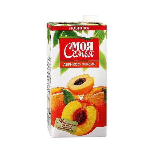 Моя Семья Персик-абрикос  2л (1х6) оптом