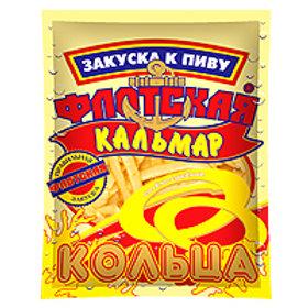 """Кольца  кальмара  """"Флотская"""" 18г 1шт."""