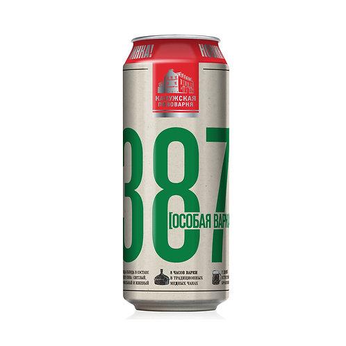 387  Особая варка  0.5л  ж/б  (1х24) пиво оптом