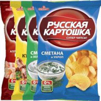 Русская картошка  ассорти 80гр оптом