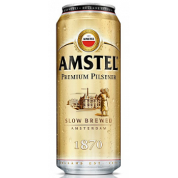 Амстел 0.5л ж/б (1х24) пиво оптом