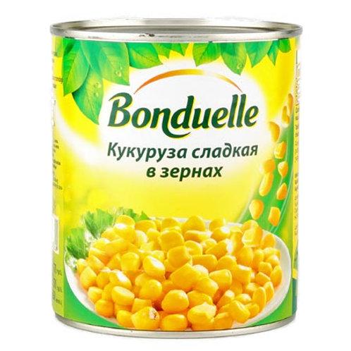 "Кукуруза ""Бондюел""  340гр  большой 1шт. оптом"