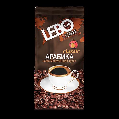 """Кофе """"Лебо"""" Классик  (молотый)  100гр 1шт. оптом"""
