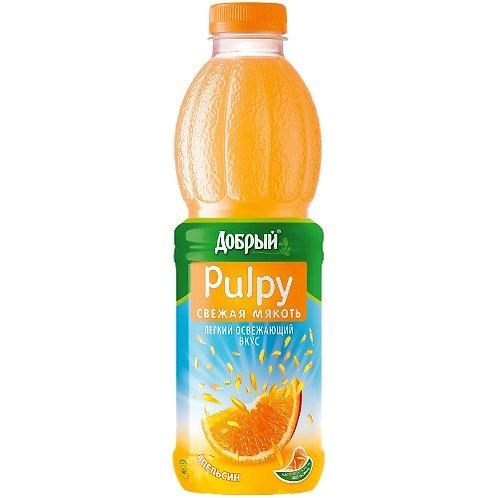 Добрый Палпи Апельсин пэт 0.9л (1х12) оптом