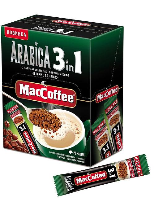 Мак Кофе 3х1 ARABICA карт./упак. 16гр (1х20) оптом