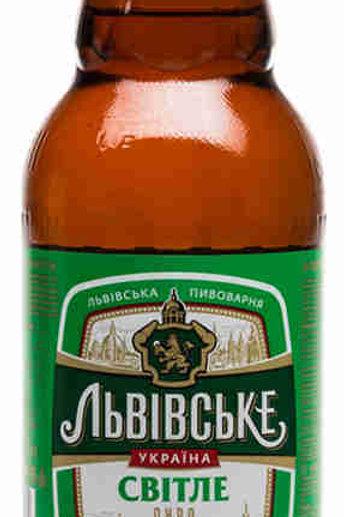 Львовское Светлое 1л пэт  (1х9) пиво оптом