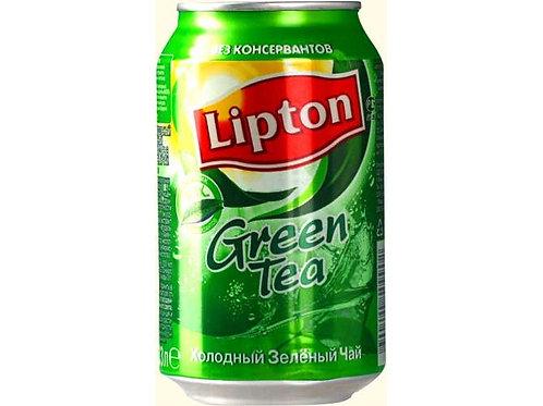 Липтон Чай Зеленый  0.33л ж/б (1х12) оптом