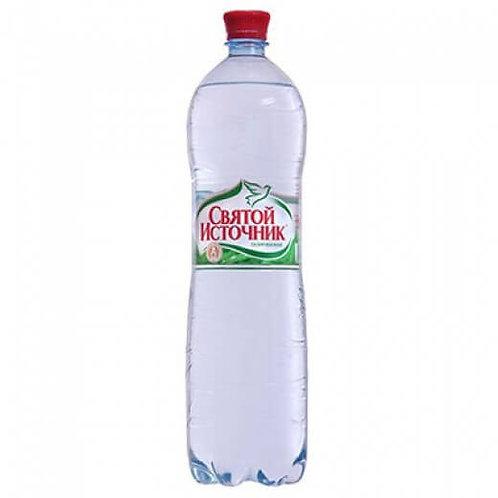 Святой  Источник Газ 1.5л пэт (1х6) вода оптом
