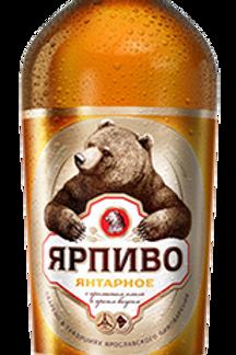 Ярпиво янтарное 1.5л пэт (1х9) пиво оптом