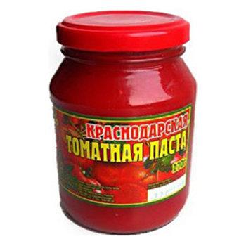 Томатная паста  Краснодар 250гр.  ст 1шт. оптом