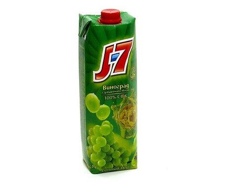 J-7 Виноград белый 1л (1х12) оптом