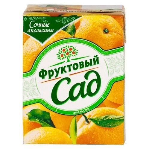 Фруктовый сад Апельсин 0.2л (1х27) оптом