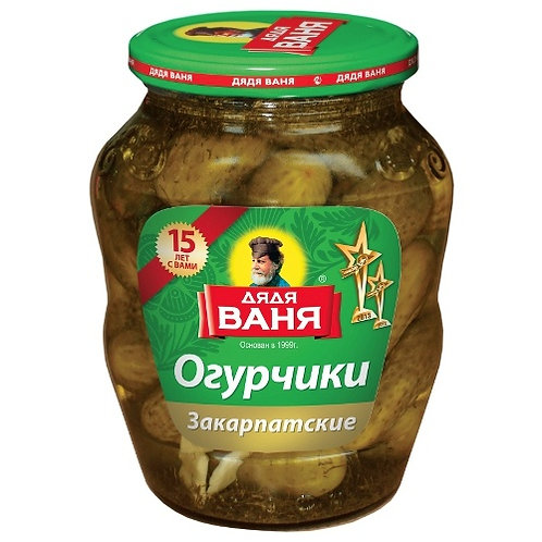 "Огурцы  ""Дядя Ваня"" Закарпатские  680гр 1шт. оптом"
