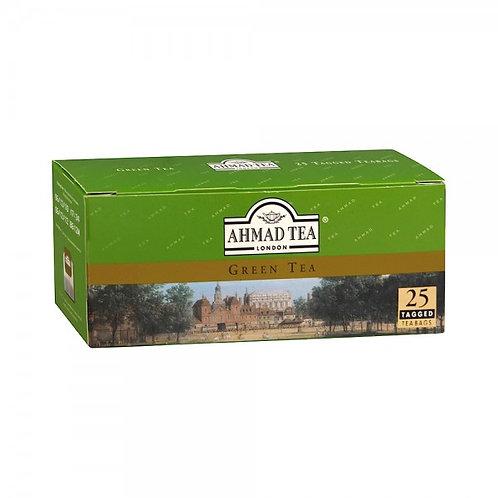 Чай Ахмад   Анг. Зеленый  (25 пакет) 1шт. оптом