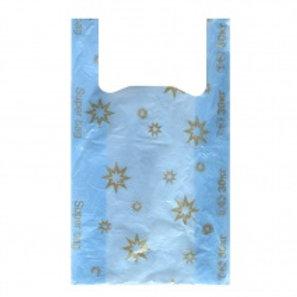 Пакеты  Звезда  синяя  (1х100) оптом