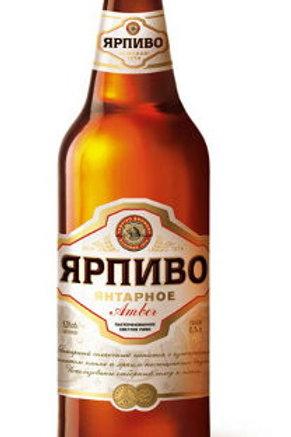 Ярпиво янтарное 0.5л ст (1х20) пиво оптом