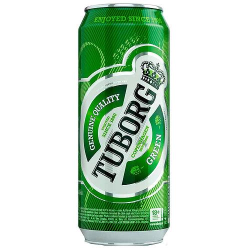 Туборг Грин 0.5л ж/б  (1х24) пиво оптом