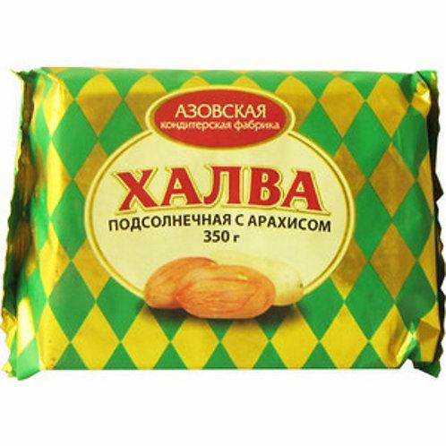 """Халва """"Азовская""""  Подсолнечная 350гр  1шт. оптом"""