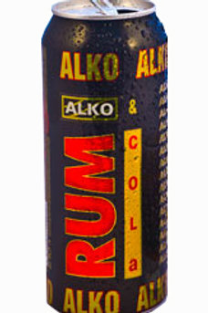 Алко Ром Кола 0.5л ж/б (1х24) оптом