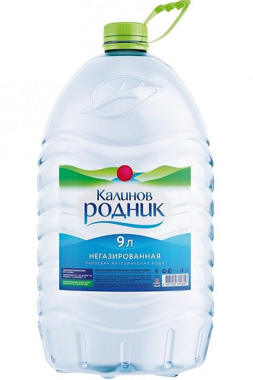 Калинов Родник Б/Г 9л пэт (1х2) вода оптом