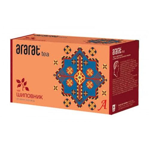Чай Арарат  Шиповник  (25 пакет)  1шт. оптом