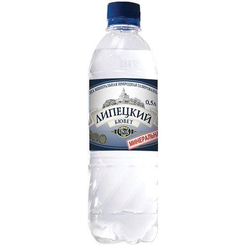 Липецкий Бювет Газ 0.5л пэт (1х12) вода оптом