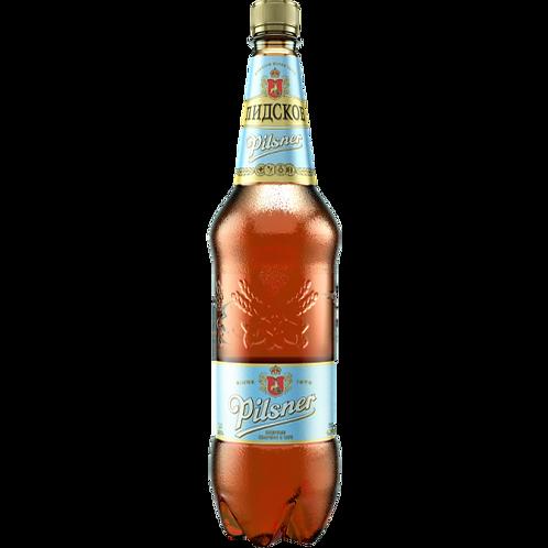 Лидское ПИЛСНЕР 1.5л   пэт (1х6) пиво оптом