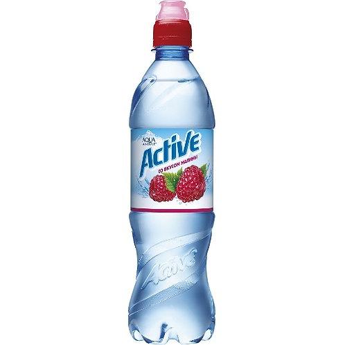 Аква  Малина спорт 0.6л пэт (1х12) вода оптом